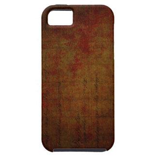 Arrière - plan sale foncé de peinture étui iPhone 5