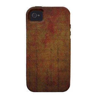 Arrière - plan sale foncé de peinture coque Case-Mate iPhone 4
