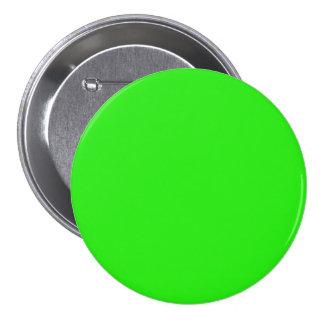Arrière - plan solide vert clair de vacances de No Badge Rond 7,6 Cm