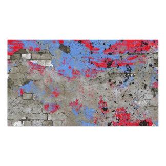 Arrière - plan TPD de mur de briques Carte De Visite