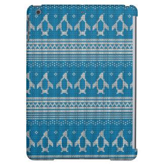 Arrière - plan tricoté par bleu