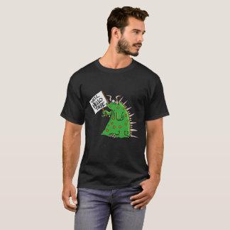 Arrière - plan unisexe d'obscurité de T-shirt de