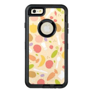 Arrière - plan végétarien de motif de cuisine coque OtterBox iPhone 6 et 6s plus