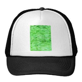Arrière - plan vert grunge casquette