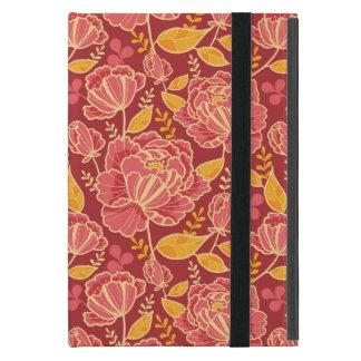 Arrière - plan vertical de motif de jardin de coque iPad mini