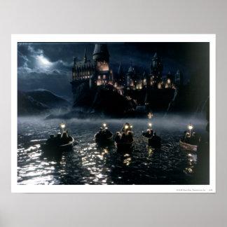 Arrivée chez Hogwarts Poster