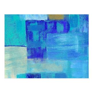 Arrose toujours la carte postale de la peinture