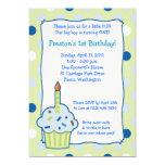 Arrosez invitation d'anniversaire de garçon du carton d'invitation  12,7 cm x 17,78 cm
