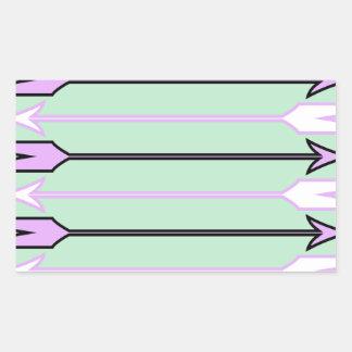 Arrow1.jpg Sticker Rectangulaire