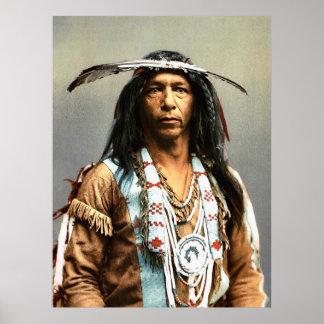 Arrowmaker, un Ojibwa courageux, 1903 Posters