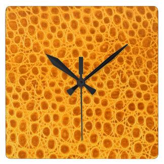 Art8 décoratif horloge carrée
