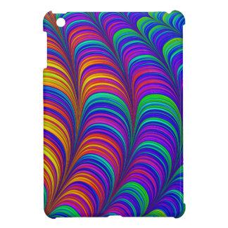 Art 3D abstrait coloré par arc-en-ciel Coque Pour iPad Mini