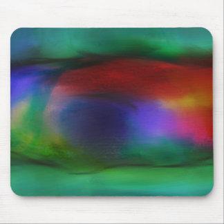 Art abstrait dans l abîme tapis de souris