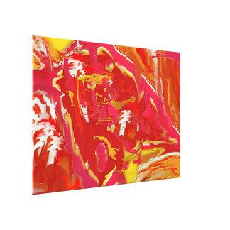 Art abstrait de CATALYSEUR, extra large Toiles