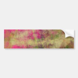 Art abstrait de couleur rêveuse de portée sur des adhésif pour voiture
