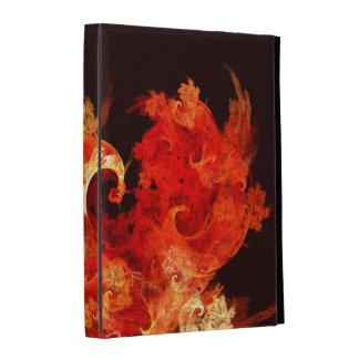 Art abstrait de Firebirds de danse Étuis iPad Folio