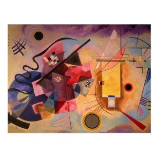 Art abstrait de Kandinsky Cartes Postales