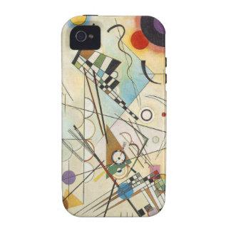 Art abstrait de Kandinsky Coques iPhone 4/4S