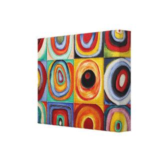 Art abstrait de Kandinsky Toiles