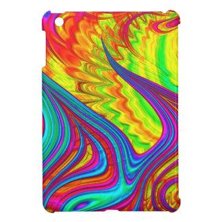 Art abstrait de l'arc-en-ciel 3D Coques iPad Mini