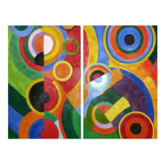 Art abstrait de Robert Delaunay Cartes Postales