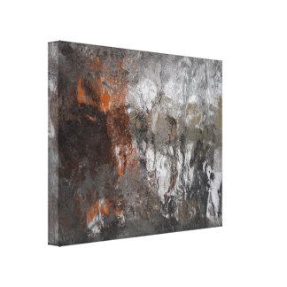 Art abstrait de tempête de pluie verglaçante toiles