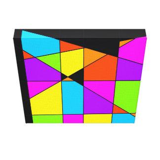 Art abstrait de Tetris Toiles