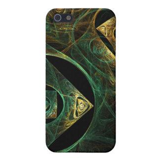 Art abstrait de vibrations magiques coque iPhone 5