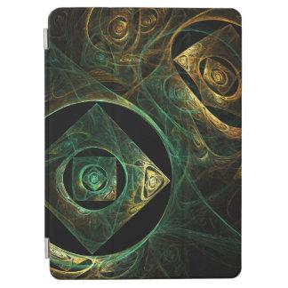 Art abstrait de vibrations magiques protection iPad air