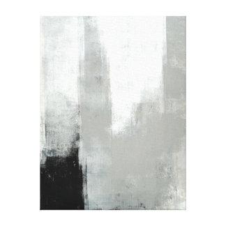 """Art abstrait gris """"retardé"""" toiles"""