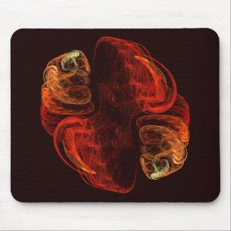 Art abstrait Mousepad de métamorphose Tapis De Souris