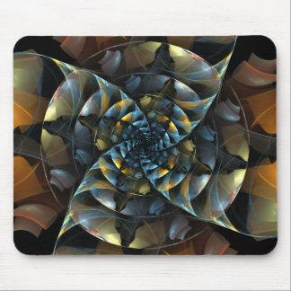 Art abstrait Mousepad de soleil Tapis De Souris