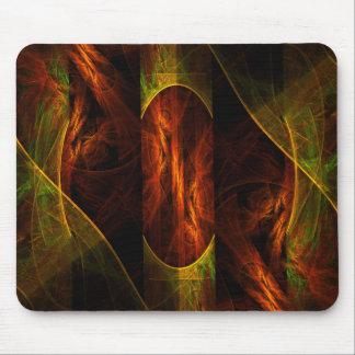 Art abstrait mystique Mousepad Tapis De Souris