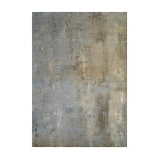 """Art abstrait neutre """"négligé"""" toiles"""