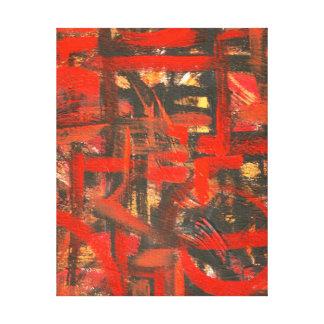 Art abstrait peint parMain rustique Toiles