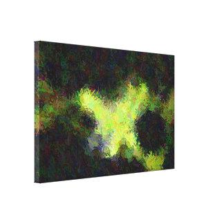 """Art abstrait """"sous eau"""" sur la toile"""