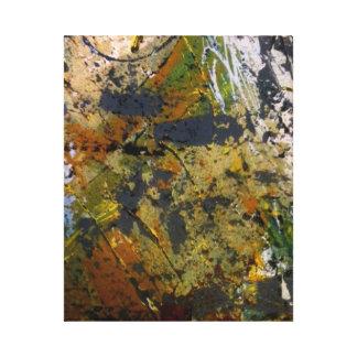 Art abstrait sur la toile toiles