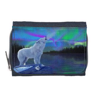 Art arctique de loup d'hurlement et de faune de lu
