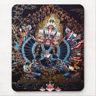 Art bouddhiste tibétain (Chemckok Heruka) Tapis De Souris