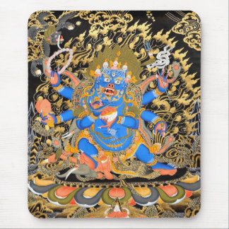 Art bouddhiste tibétain tapis de souris