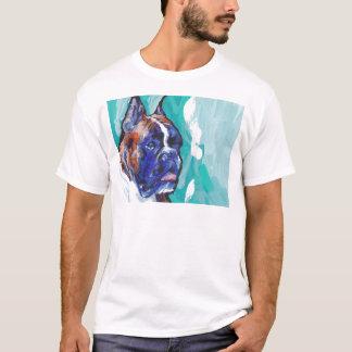 Art Brindle de chien de bruit de boxeur T-shirt