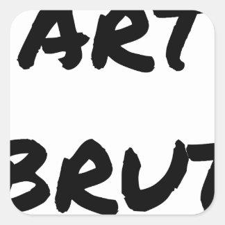 art_brut__jeux_de_mots_francois_ville sticker carré