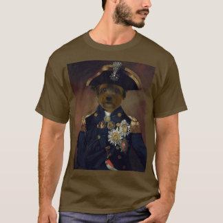 art classique de chien t-shirt