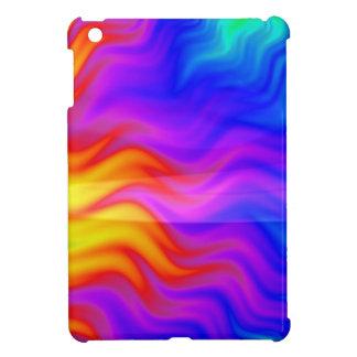 Art coloré de l'abrégé sur 3D arc-en-ciel Coques iPad Mini