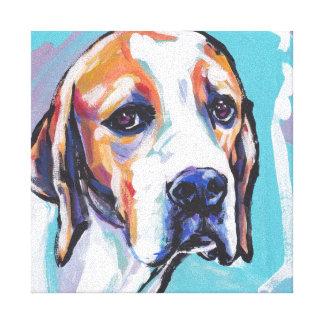 Art coloré lumineux de chien de bruit d'indicateur toiles