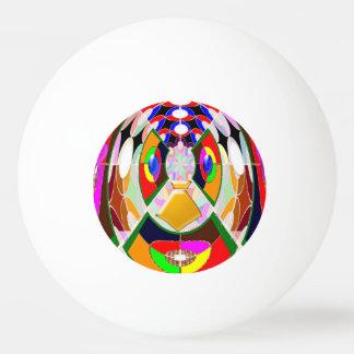 ART créatif NavinJOSHI de boule de ping-pong du Balle De Ping Pong