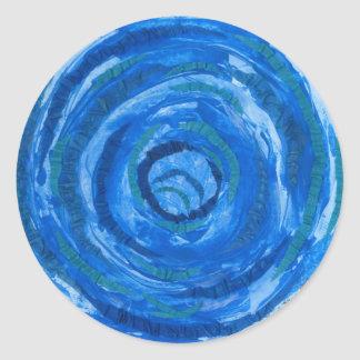 art curatif #2 de 5th-Throat Chakra Sticker Rond