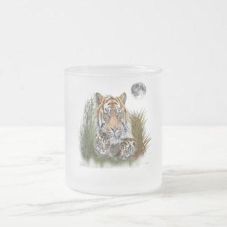 Art d'animal de tigre tasse