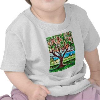 Art d'arbre t-shirts