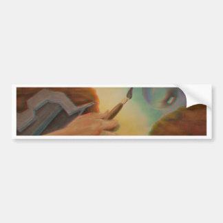 """Art de 3D de """"   transition"""" par Phillip un Welker Autocollant Pour Voiture"""